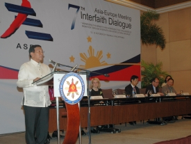Asia Europe Meeting Interfaith Dialogue Meeting in Manila