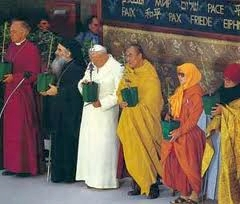 religious leaders at Assisi in 1986
