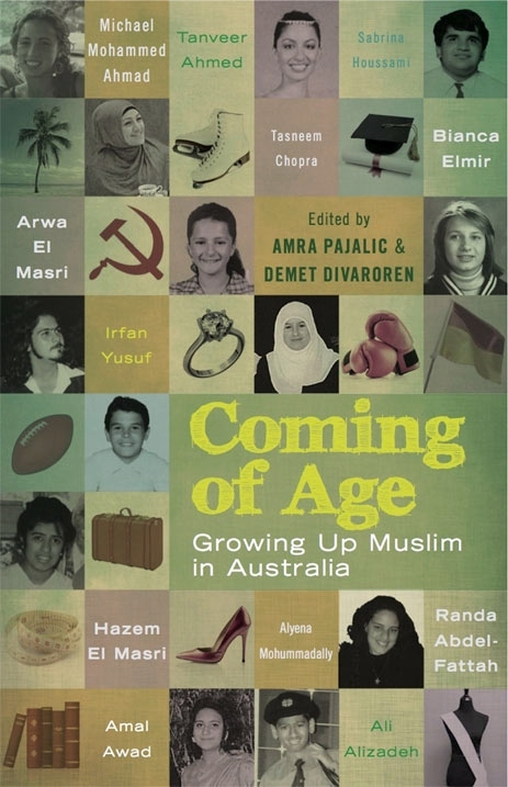 Book Cover, Coming of Age in Australia