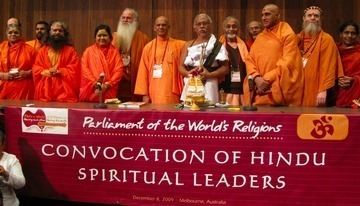 Convocation of Hindu Religious Leaders, Parliament of the World's Religions, Melbourne, 2009