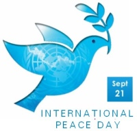 Un INternational Peace Day Logo