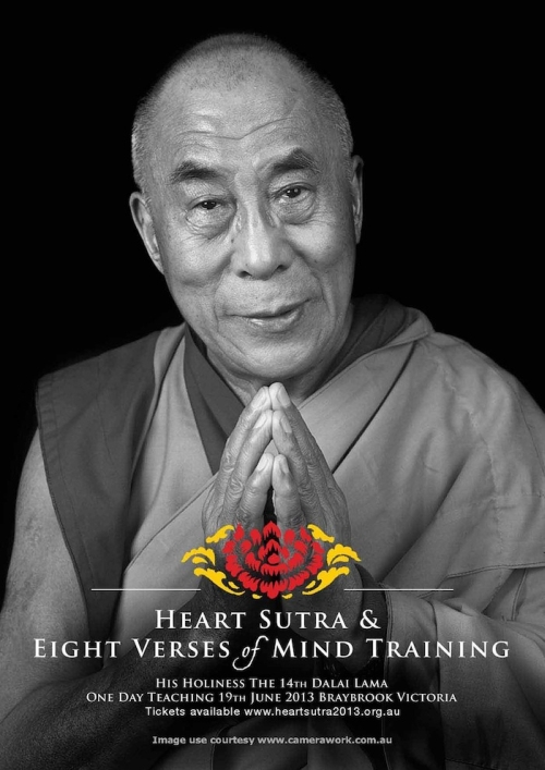 Heart Sutra Training poster