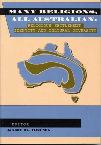 Book Cover, Many Religions, All Australian