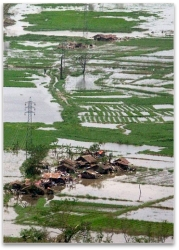 Myanmar in flood