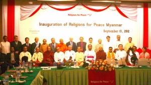 Launch of Religions for Peace Myanmar