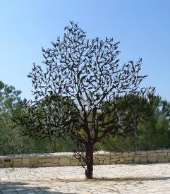 Zadok Ben-David's sculpture - For the Tree of the Field is Man's Life