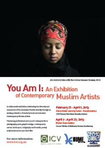 You am I, exhibition of contemporary muslim artists