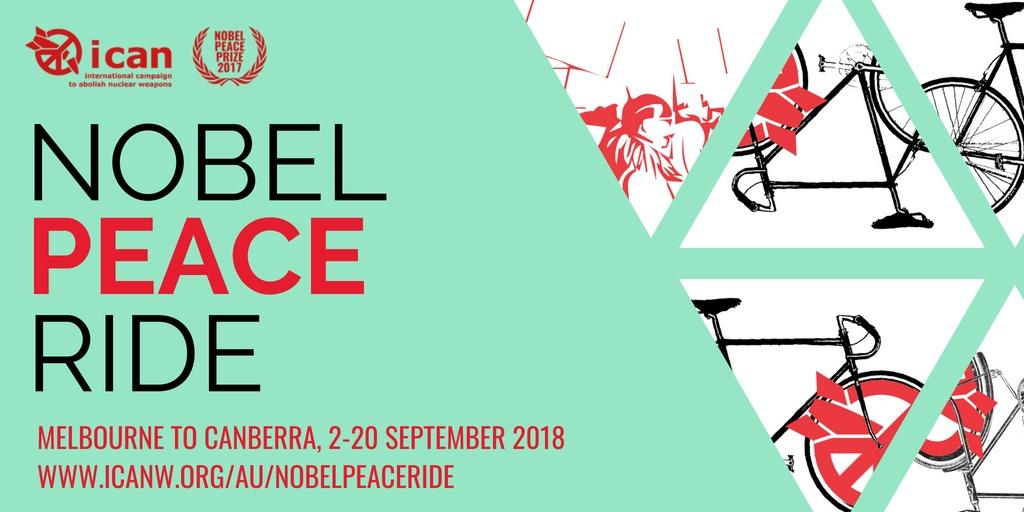 peace bike ride