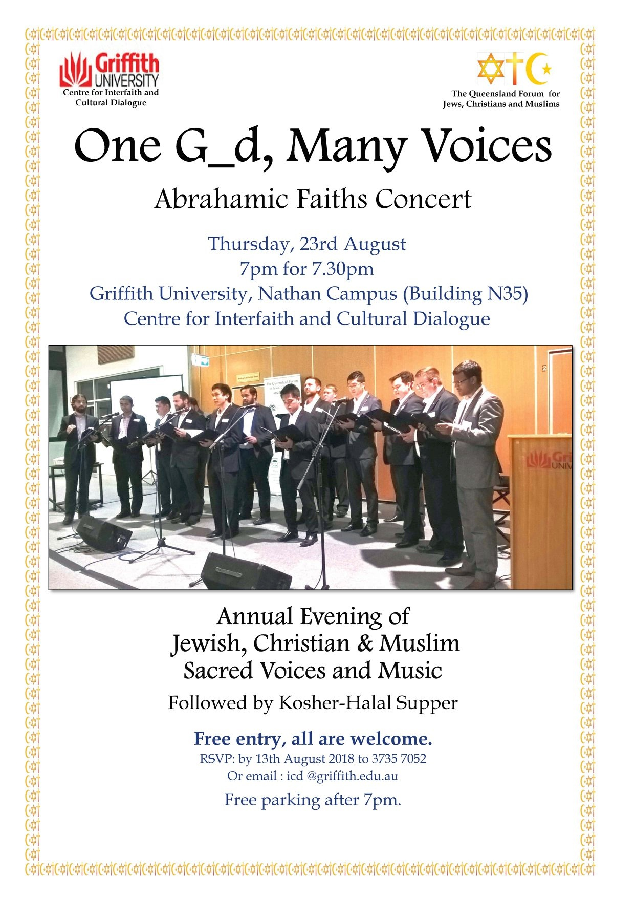 Annual Abrahamic Voices Concert