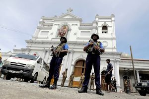 Colombo Church Bombing