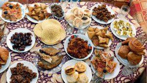 Ramadan Iftaar meal
