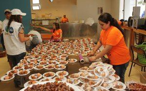 Iftaar kitchen for Ramadan