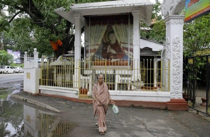 Buddhist Shrine Sri Lanka