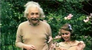 Albert Einstein and his daughter Lieserl