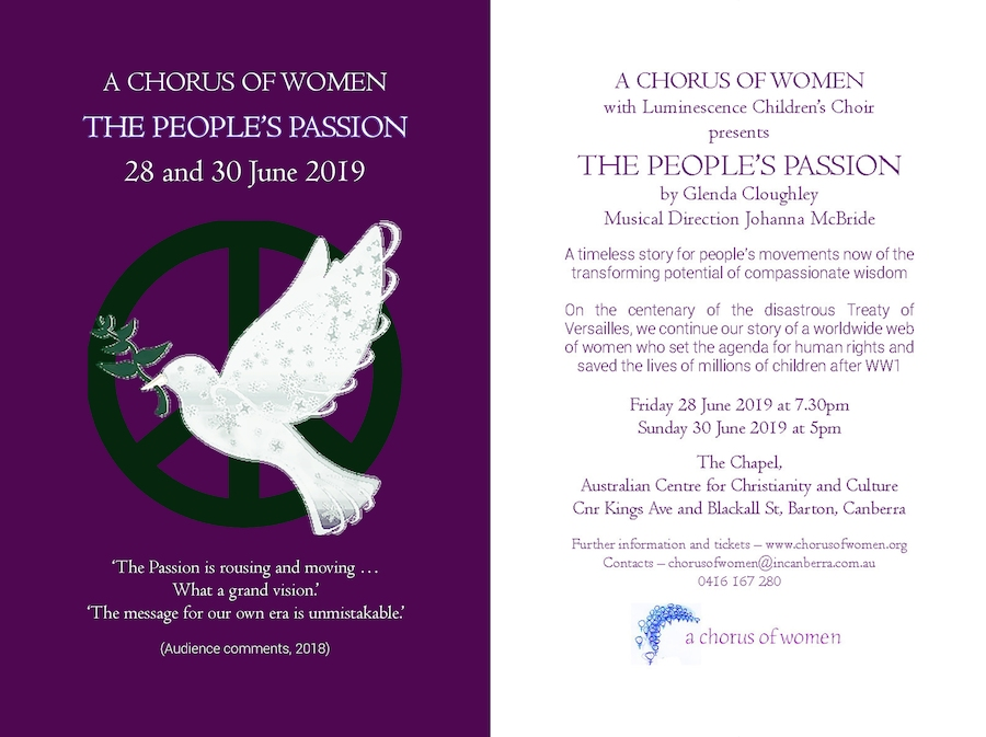 The People's Passsion 2019 Flyer