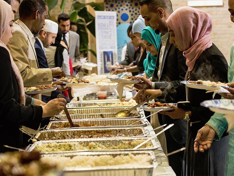 self-serve buffet iftaar meal