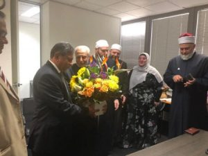 Imams visit Sri Lanka Consul General