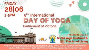 International Day of Yoga, Victoria