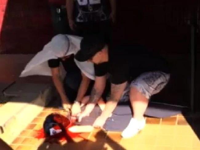 Video of Mock Beheading
