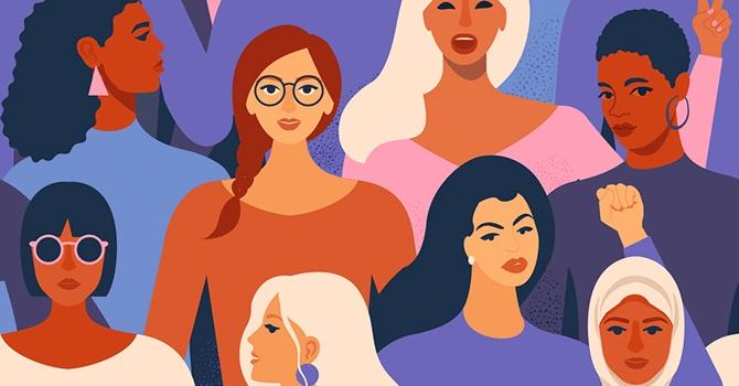 women of faith graphic