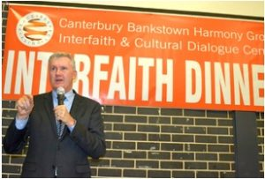 Tony Burke MP at Interfaith Dinner