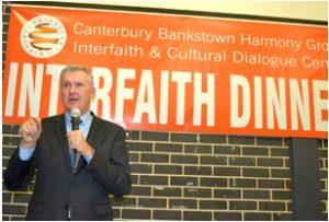 Tony Burke MP at Interfaith Dinner