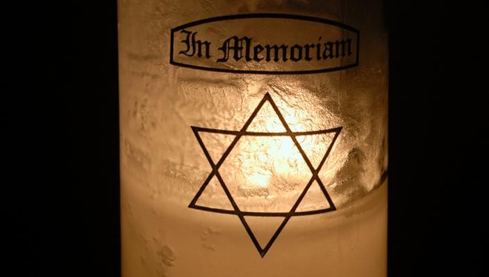 Jewish Memorial Candle
