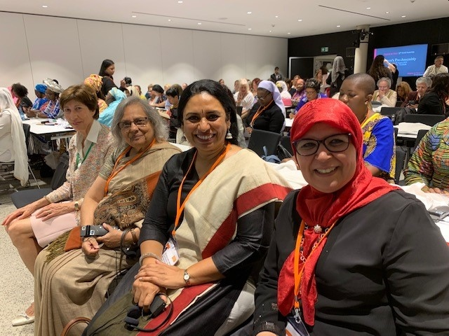 Lady participants at 10th World Assembly
