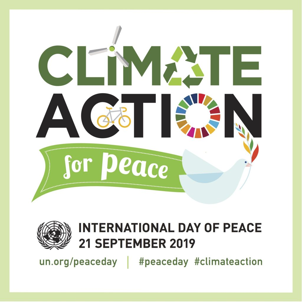 Climate Action Logo UN International Day of Peace