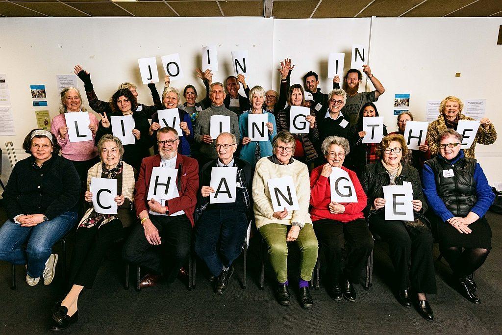 Participants at Melbourne Living The Change