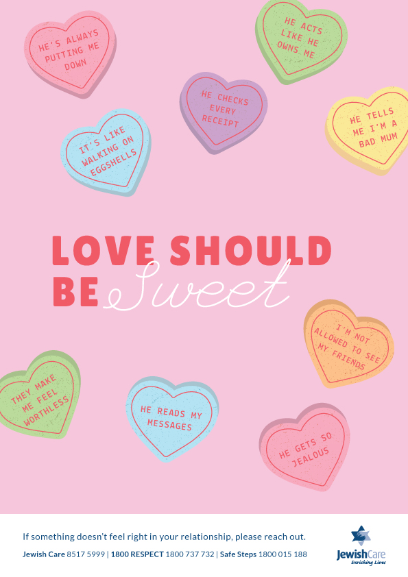 Family Violence Poster - Love should be sweet