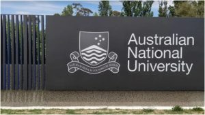 ANU Sign and Logo