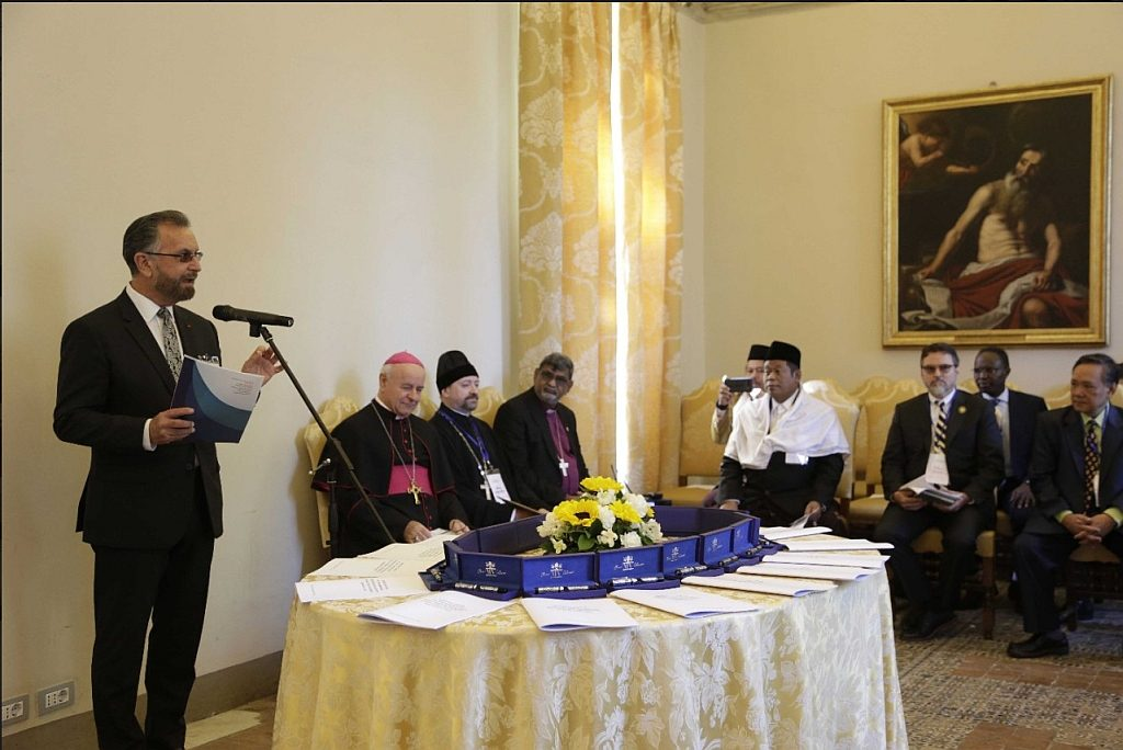 Abrahamic Faiths statement on End of Life care, Rome