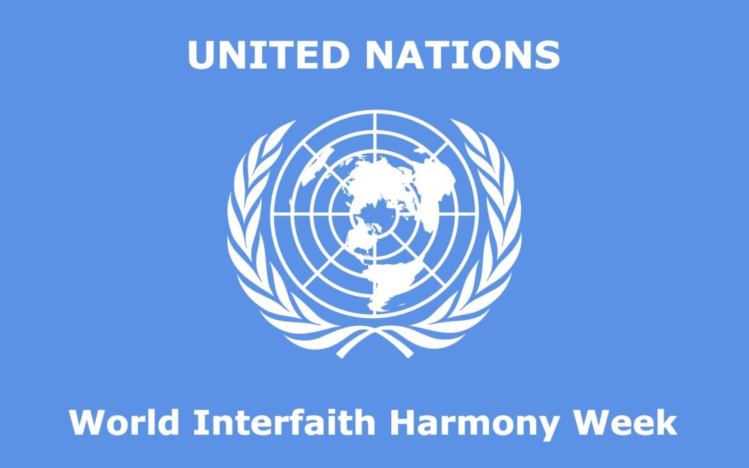 United Nations World Interfaith Harmony Week Logo