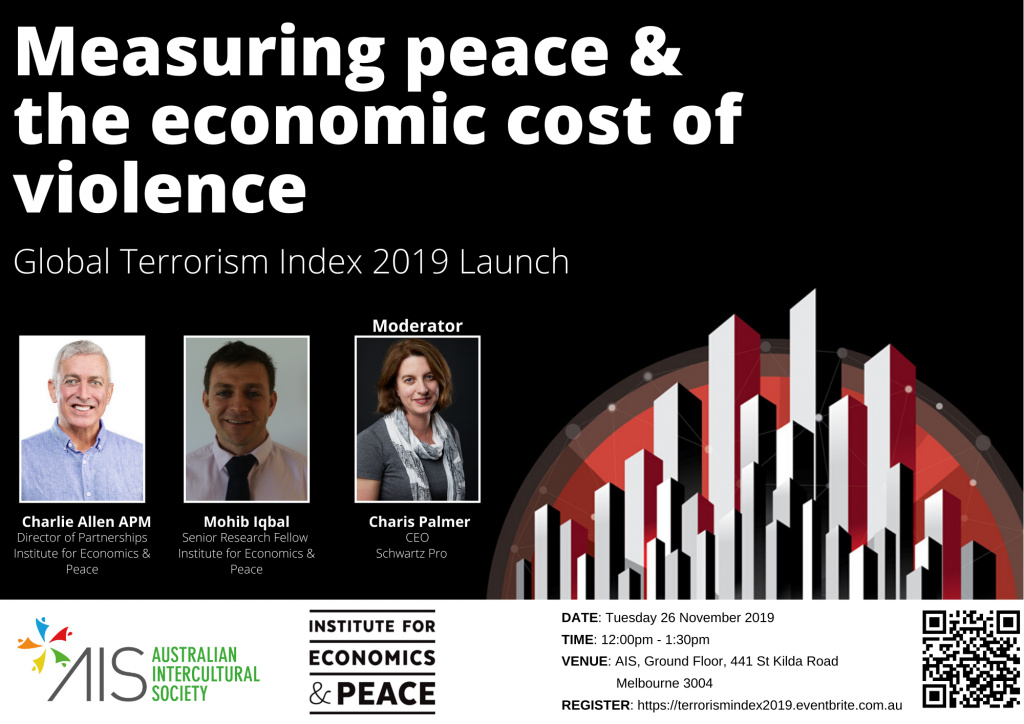 2019 Global Cost of Terrorism Launch