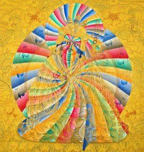 A Rainbow Buddha
