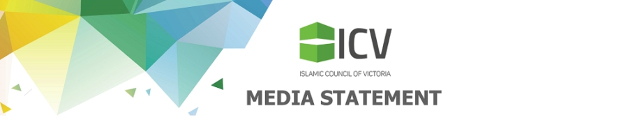 Islamic Council of Victoria Meid Statement