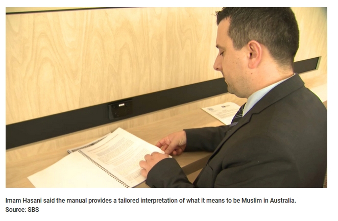 Imam Hasani said the manual provides a tailored interpretation of what it means to be Muslim in Australia.