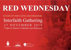 Red Wednesday Interfaith