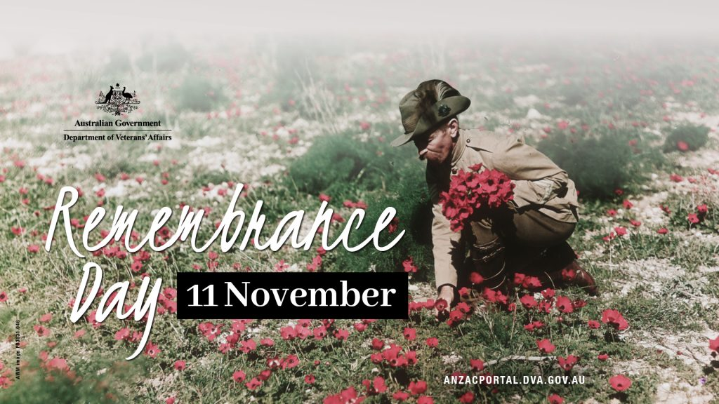 Remembrance day 2019 Poster