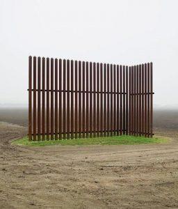 an odd fence