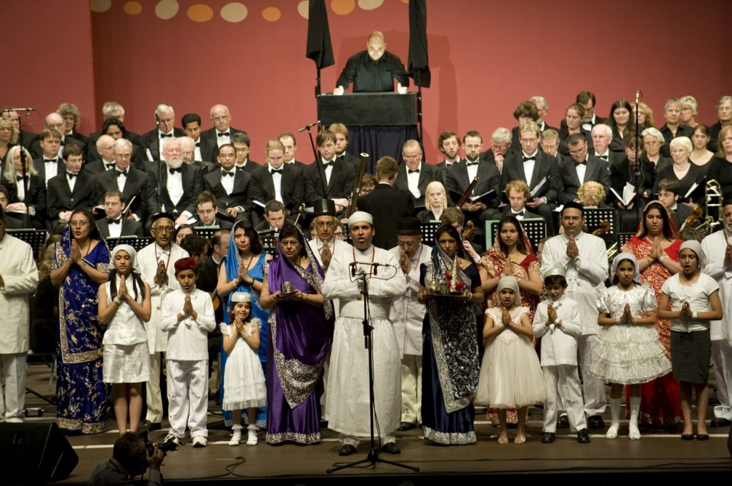 Choir and Musicians at the Opening Ceremony of the 2009 Parliament of the World's Religions