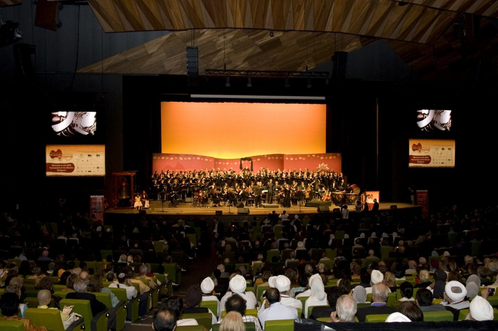 View of the Opening Ceremony of the 2009 Parliament of the World's Religions