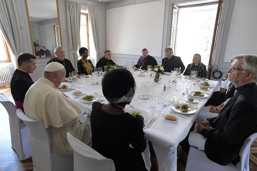 Lunch Of Pope Francis With The Leaders Of The World Council Of Churches © Vatican Media