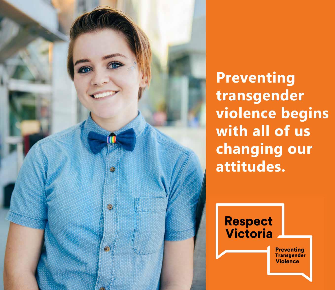 Respect Victoria - against transgender based violence