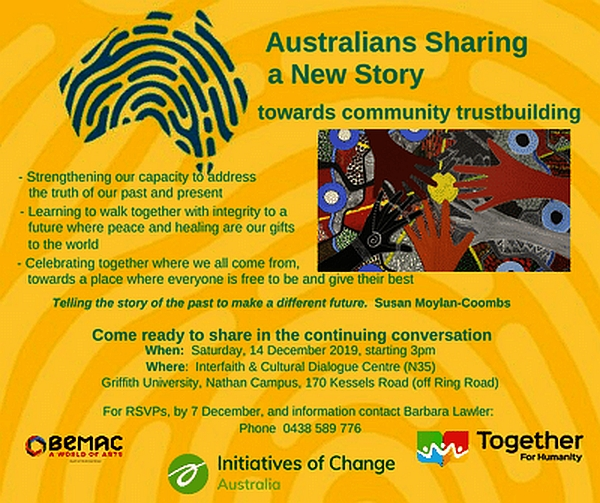 Building Communities of Trust - Sharing a New Story