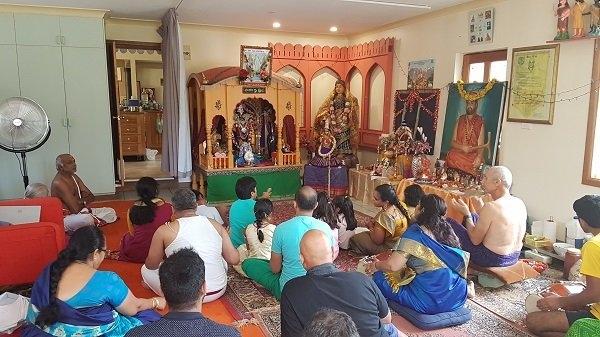 Sri Om temple Brindaban