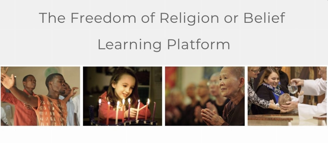 Freedom of Religion and Belief Learning Platform