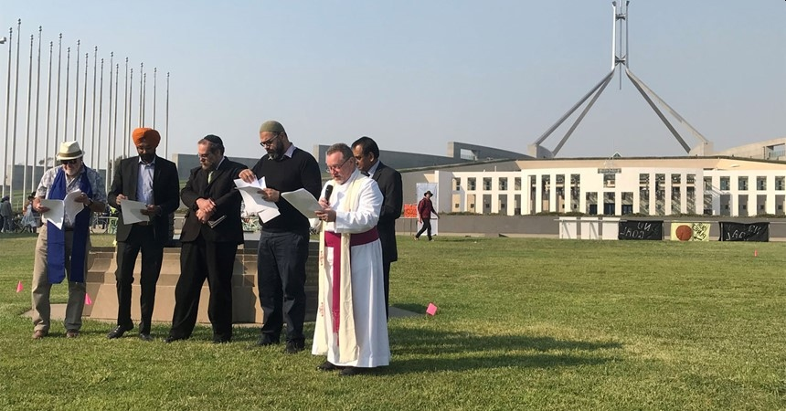 Interfaith Mourning Ritual at Parliament House