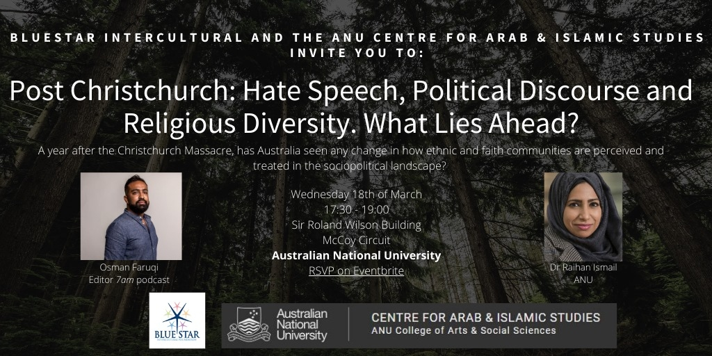 Post Christchurch: Hate speech & Political Discourse, What Lies Ahead?